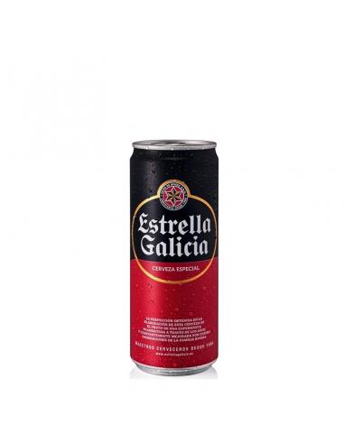 CERVESA ESTRELLA GALICIA LLAUNA 33CL