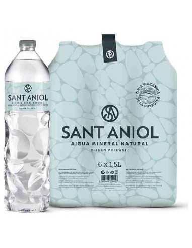 AIGUA 1,5L PLASTIC SANT ANIOL PACK-6
