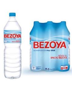 AIGUA 1,5L PLASTIC BEZOYA PACK-6