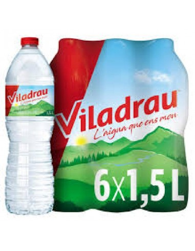 AIGUA 1.5L PLASTIC VILADRAU PACK-6